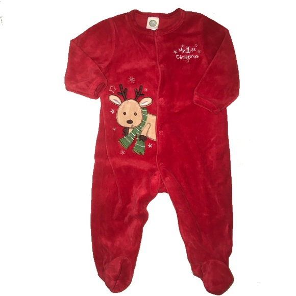 fa83cf379 Little Me Pajamas | 6 Month First Christmas Pjs | Poshmark